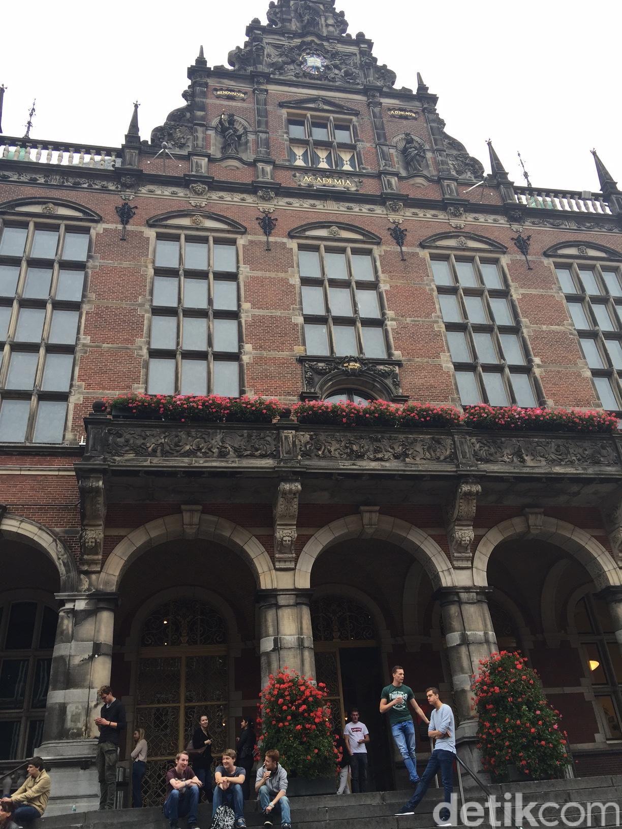 Universitas Groningen (Foto: Eddi Santosa/detikcom)