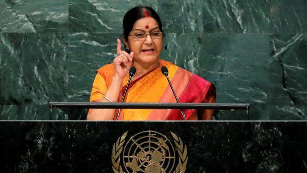 Menteri Luar Negeri India Sushma Swaraj