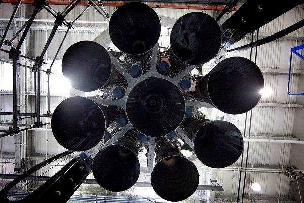 Octaweb Merlin Engine (Space X)