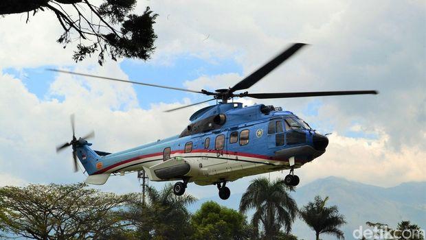 Helikopter kepresidenan/ Iqbal detikcom