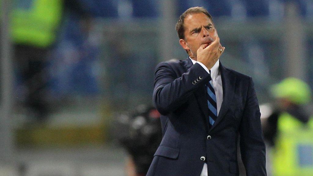 Frank De Boer Masih Butuh Waktu di Inter