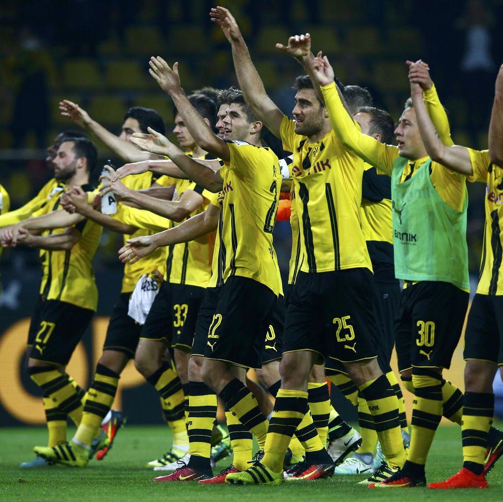 Dortmund Diminta Imbangi Permainan Keras Lawan