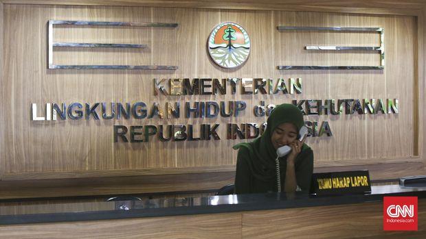 kantor KLHK di Jakarta.