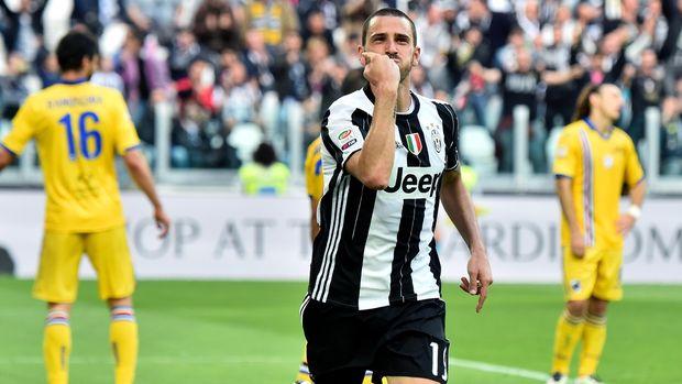 Leonardo Bonucci tujuh musim memperkuat Juventus.