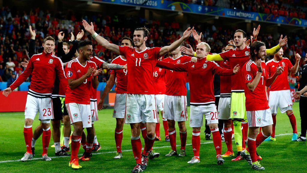 Disebut Cuma Beruntung di Piala Eropa, Wales Tak Terima