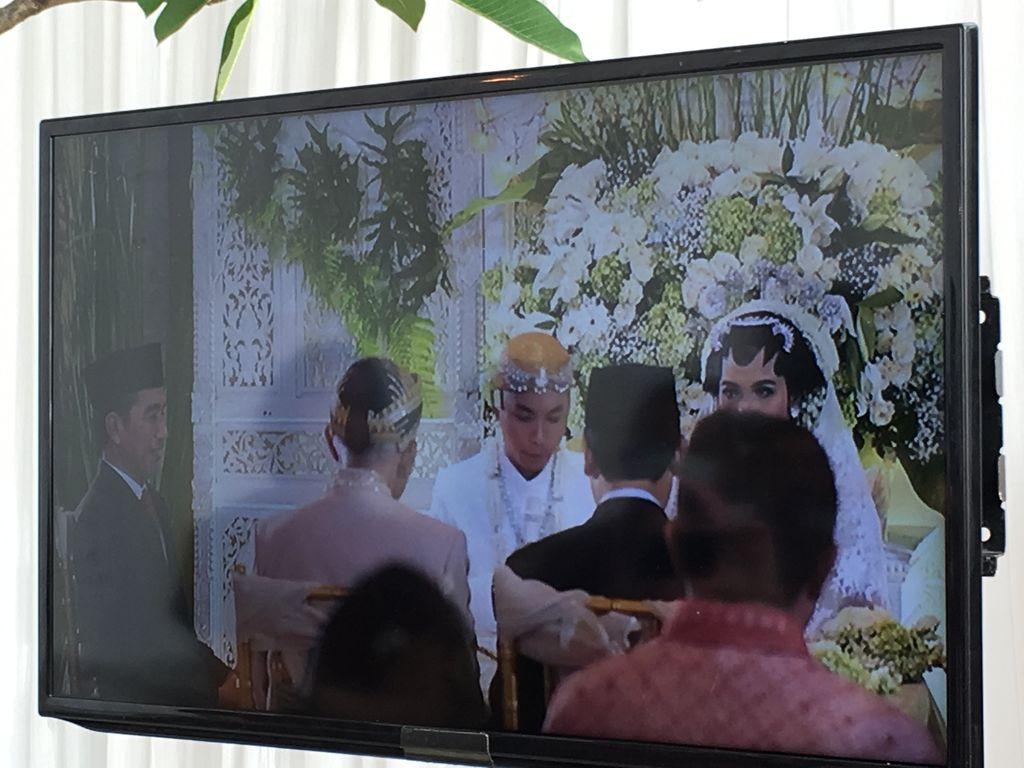 Presiden Jokowi Jadi Saksi Pernikahan Putra Ketua DPRD DKI