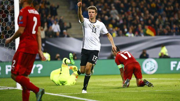Dominan, Jerman Hantam Ceko 3-0