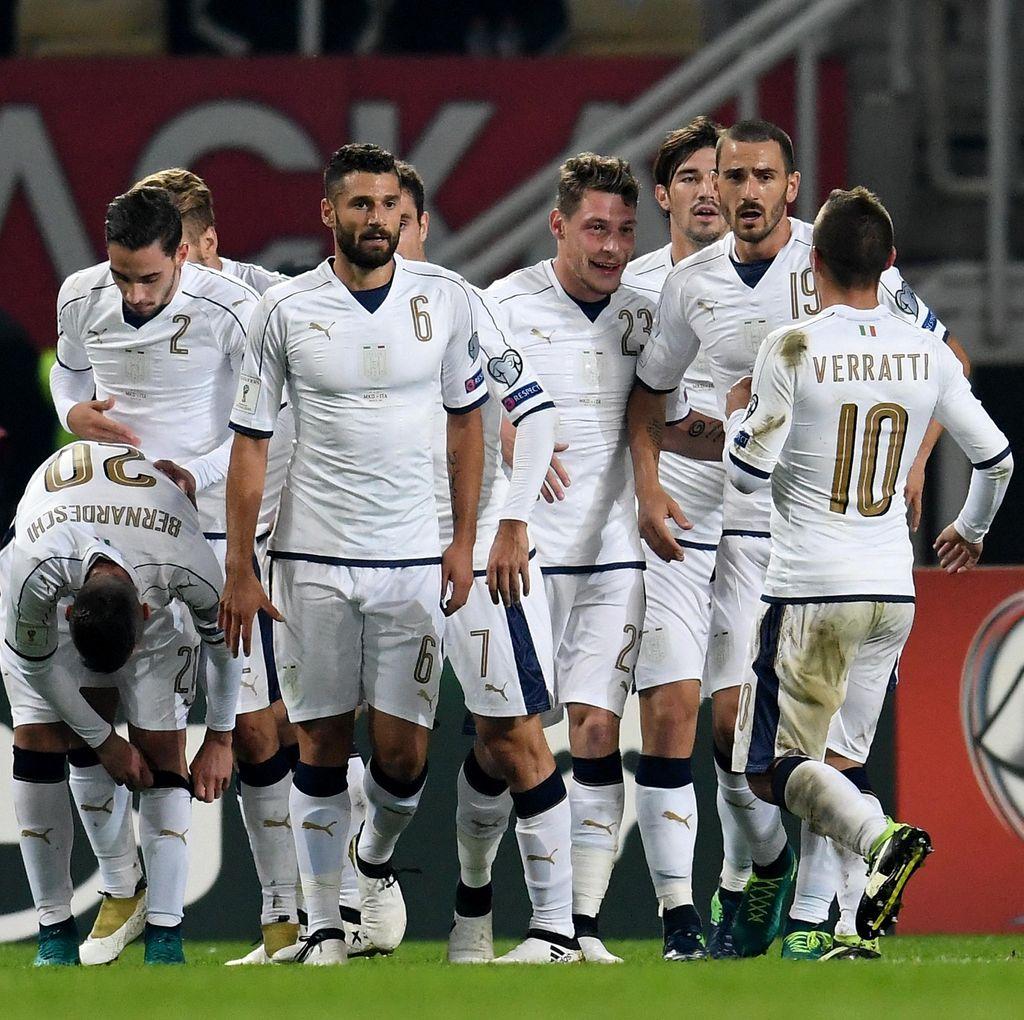 Ancelotti Yakin Italia Akan Lolos ke Putaran Final Piala Dunia