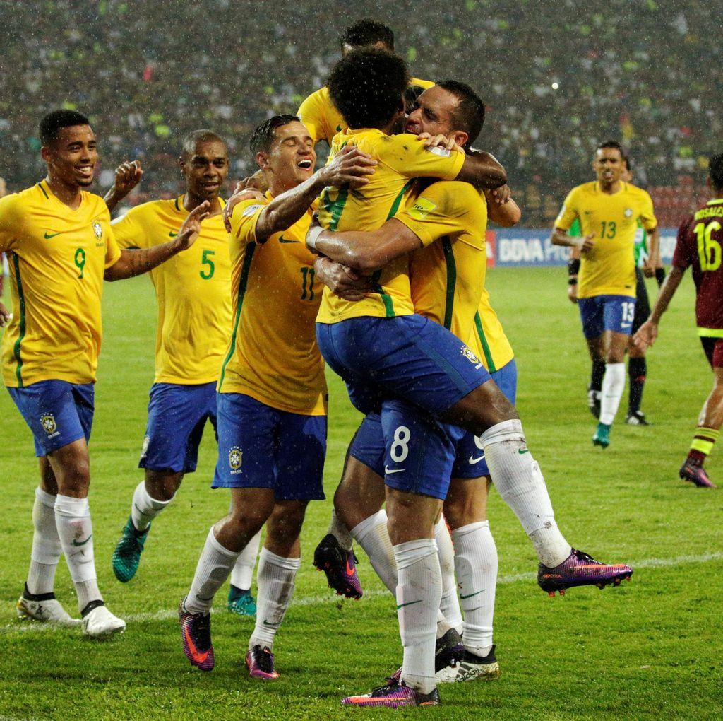 Diwarnai Insiden Mati Lampu, Brasil Menang 2-0 di Markas Venezuela