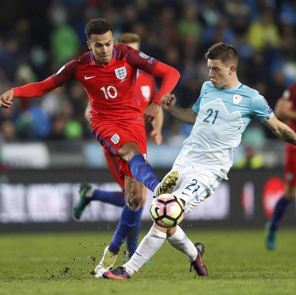 Inggris Diimbangi Slovenia Tanpa Gol