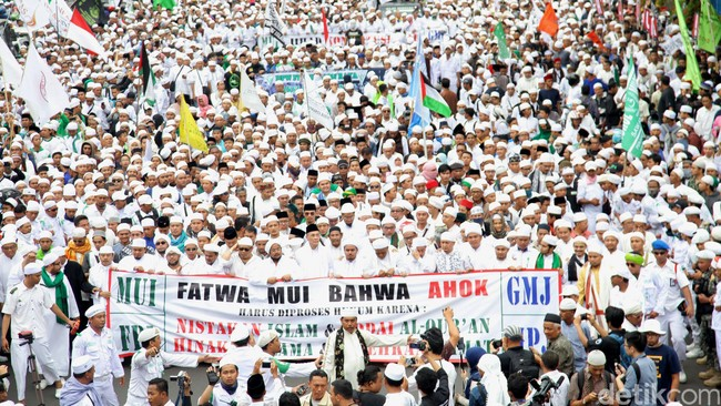 Gelar Aksi Damai, FPI: Tak Ada Bayaran di Demo 4 November