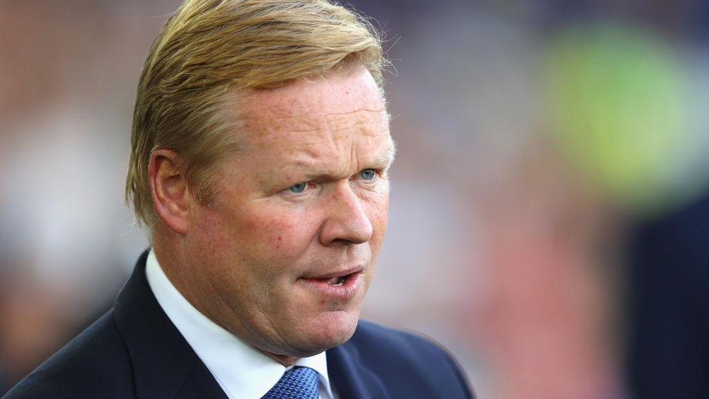 Everton Tantang City, Koeman Kesampingkan Dulu Pertemanannya dengan Guardiola