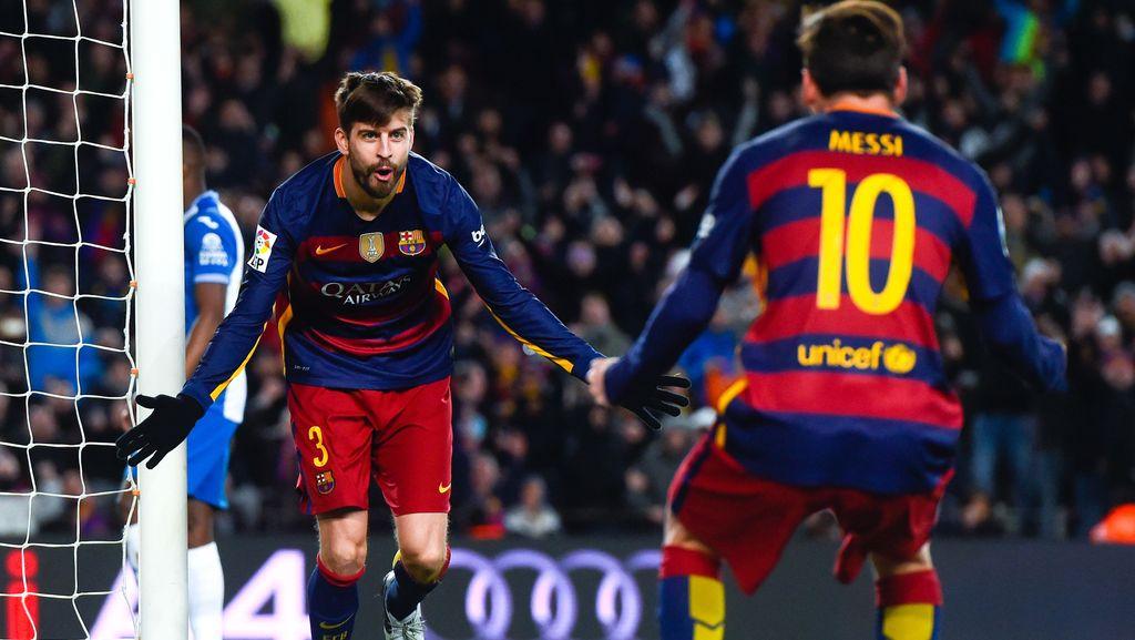 Pique: Tak Akan Ada Messi yang Lain