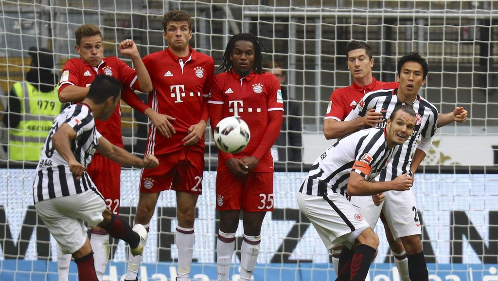 Bayern Seri 2-2 Lawan Eintracht Frankfurt