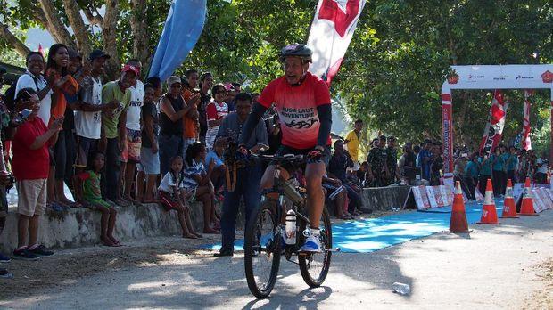 Kisah Antusiasme WN Portugal Ikuti Triathlon Nusa Laut Adventure 2016