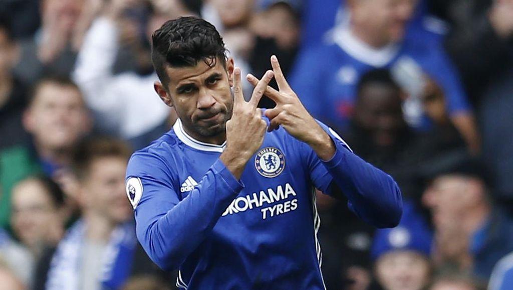 Bek West Ham Harus Cerdik Tangani Diego Costa