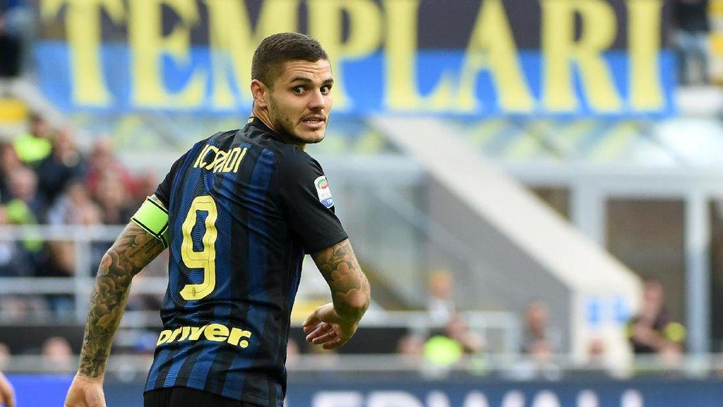 Dimusuhi Ultras, Icardi Akan Tetap di Inter