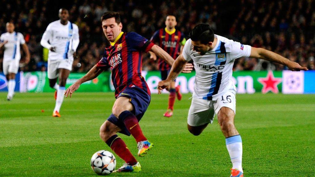 Aguero: Semoga Messi Jalani Hari yang Buruk di Camp Nou