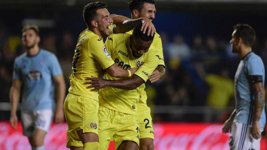 Cukur Celta 5-0, Villarreal Panaskan Persaingan di La Liga