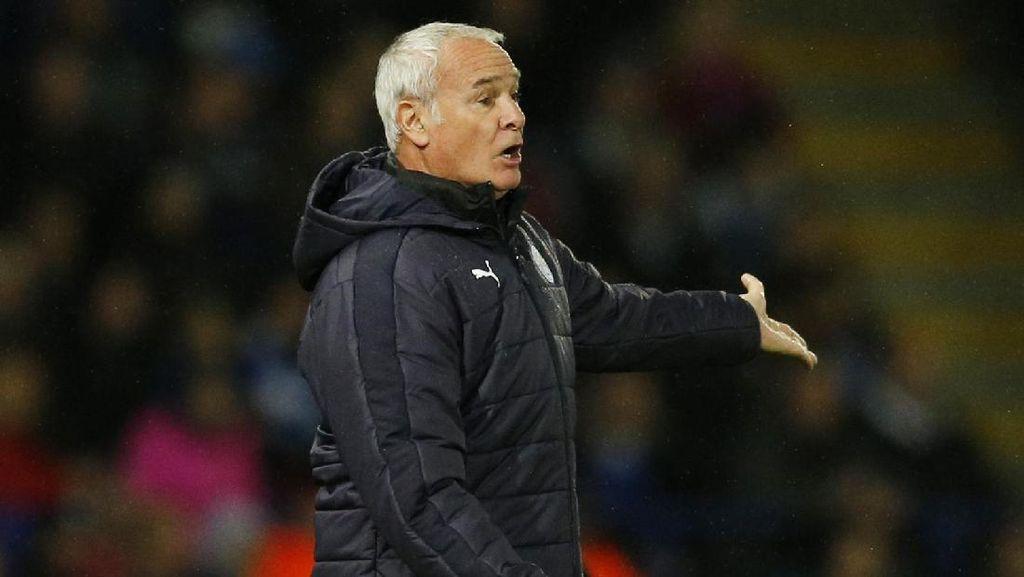 Ranieri Sangat Bangga kepada Leicester, tapi Juga Sangat Marah