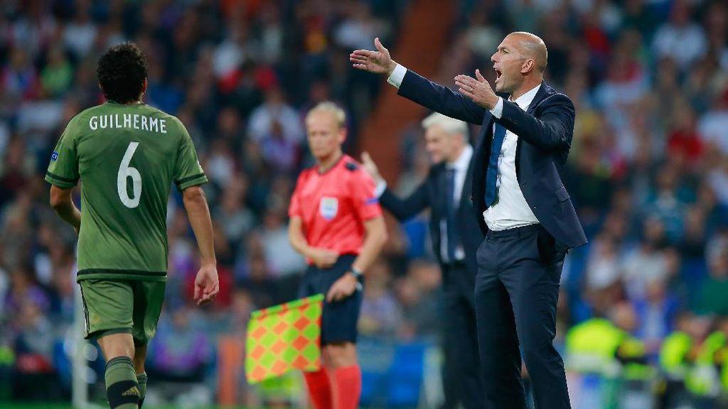 Zidane Puas Permainan Menyerang Madrid yang Berbuah Banyak Gol