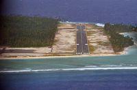 Landasan Pacu Bandara Miangas