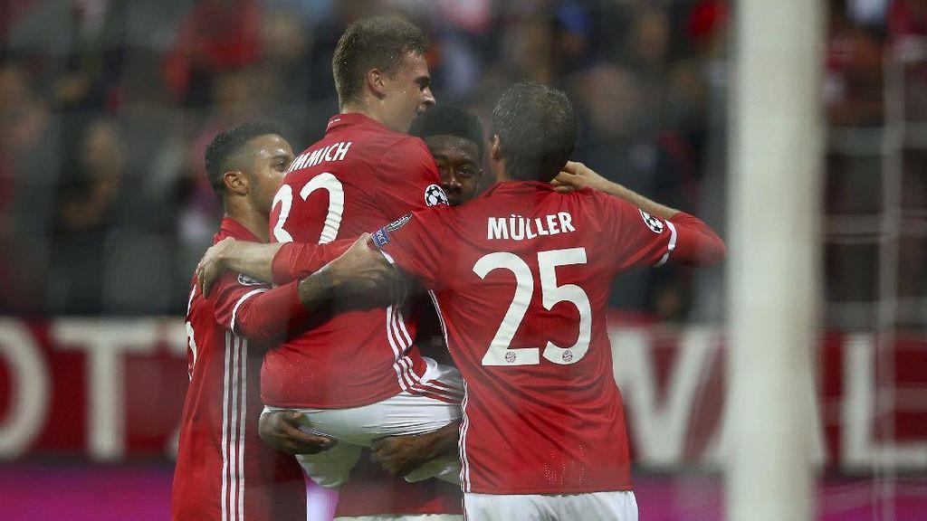 Bayern Taklukkan PSV 4-1