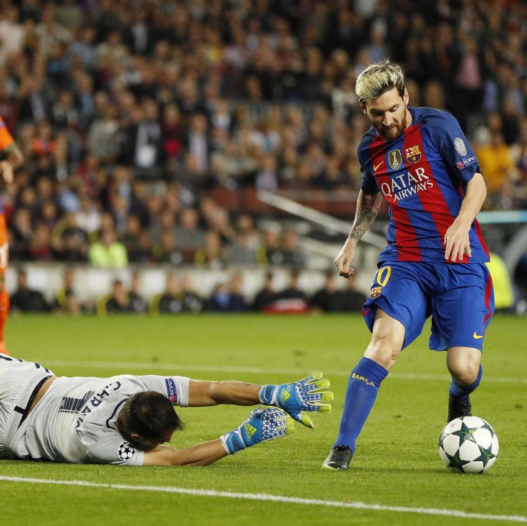Messi Masuk Starting XI Lagi, Langsung Bikin Hat-trick dan Assist