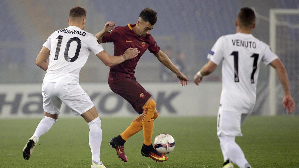 Buang Keunggulan Dua Gol, Roma Diimbangi Austria Wina 3-3