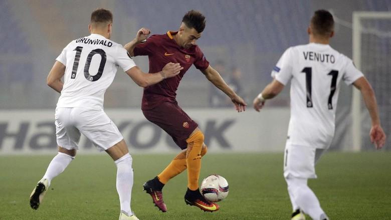 AS Roma Berimbang 3-3 Kontra Austria Wina