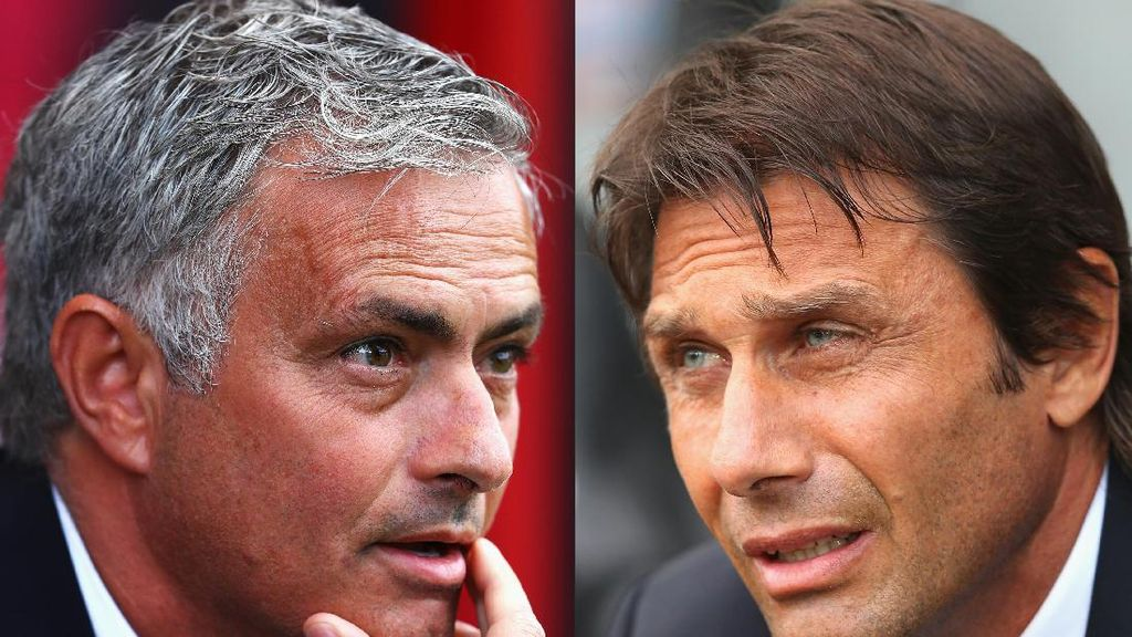 Conte-Mourinho Cari Kemenangan Pertama