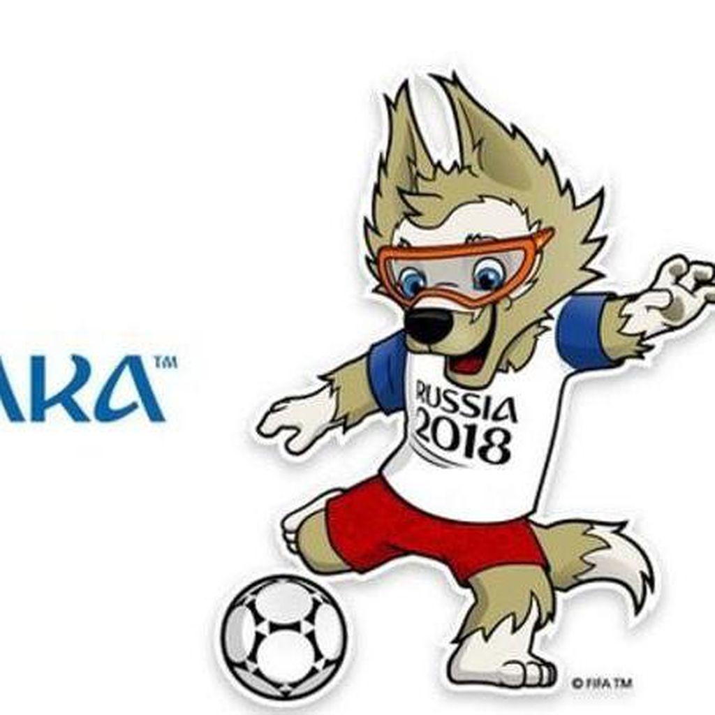 Zabivaka, Serigala Berkacamata Maskot Piala Dunia 2018