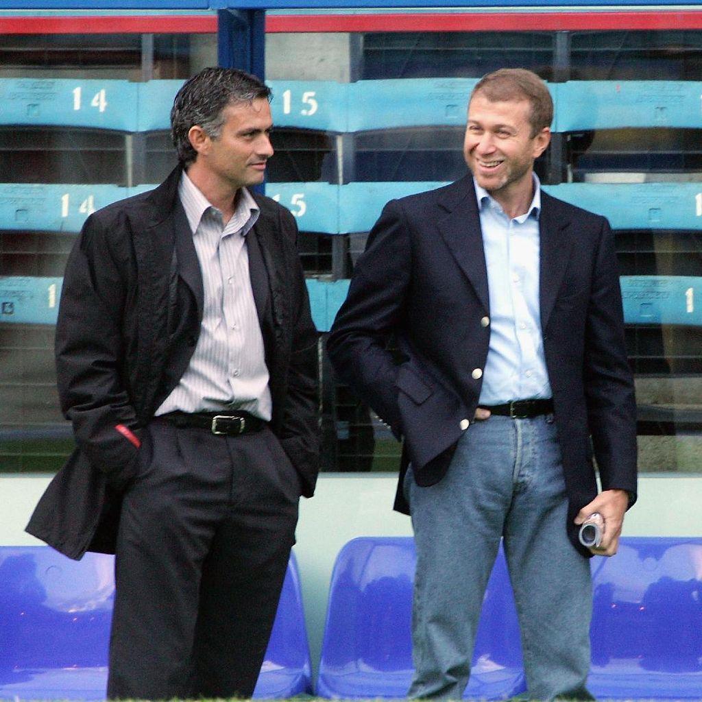 Mourinho: Saya Tak Pernah Berteman dengan Abramovich