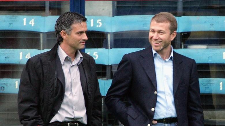 Mourinho Tak Pernah Merasa Berteman Dengan Abramovich