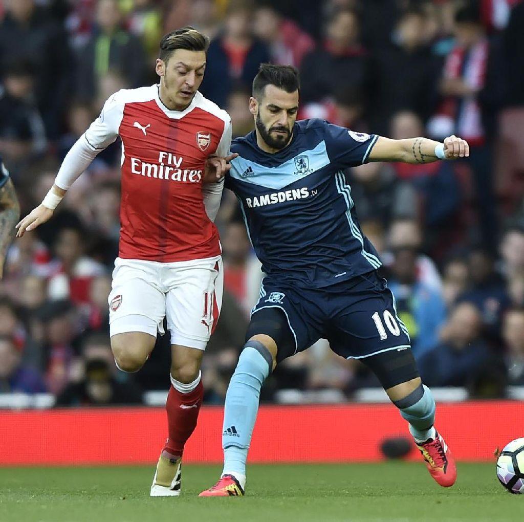 Belum Ada Gol di Emirates Stadium