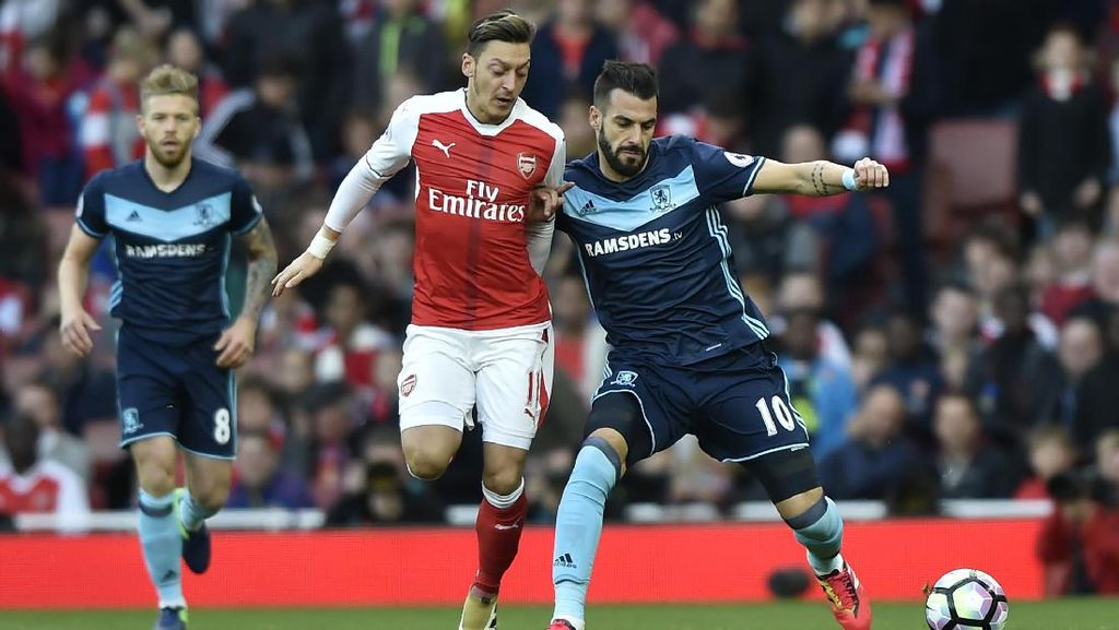 Arsenal Diredam Middlesbrough