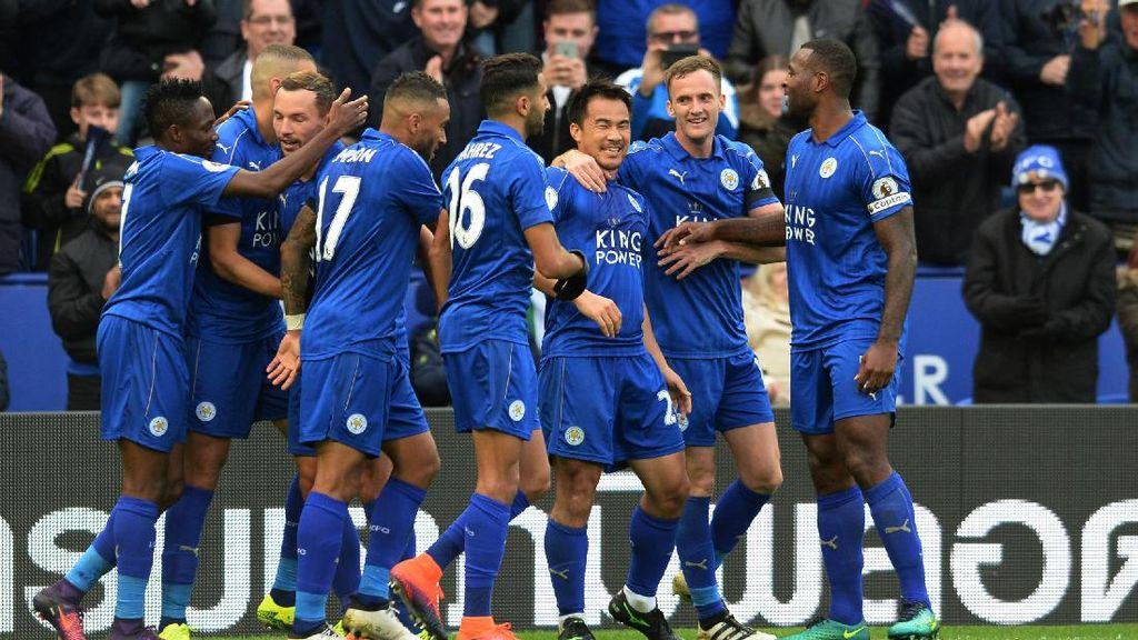 Leicester Kalahkan Palace, Akhiri Rentetan Tanpa Kemenangan