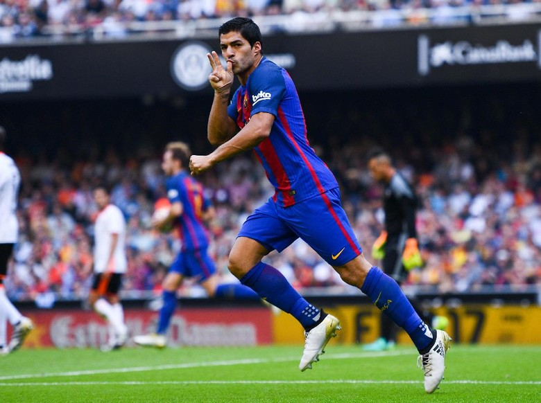 """Bandar Bola - Suarez Puas Barca Bisa Comeback Lawan Valencia"""