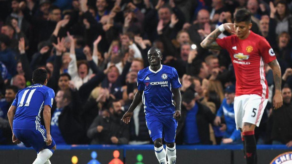 Candaan David Luiz Soal Gol Kante