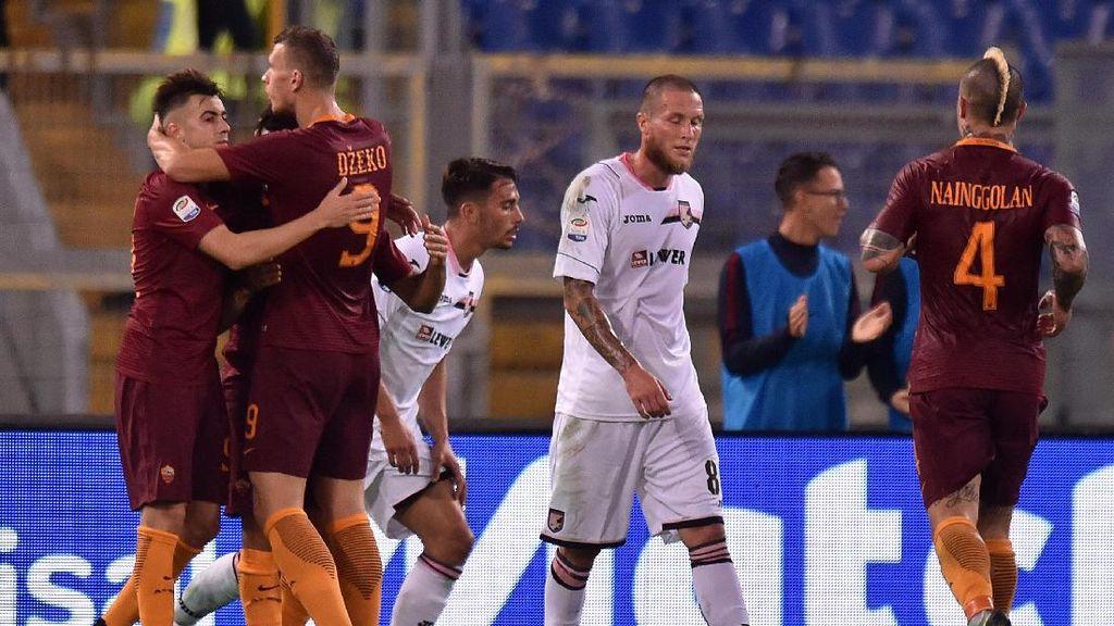 Roma Atasi Palermo 4-1