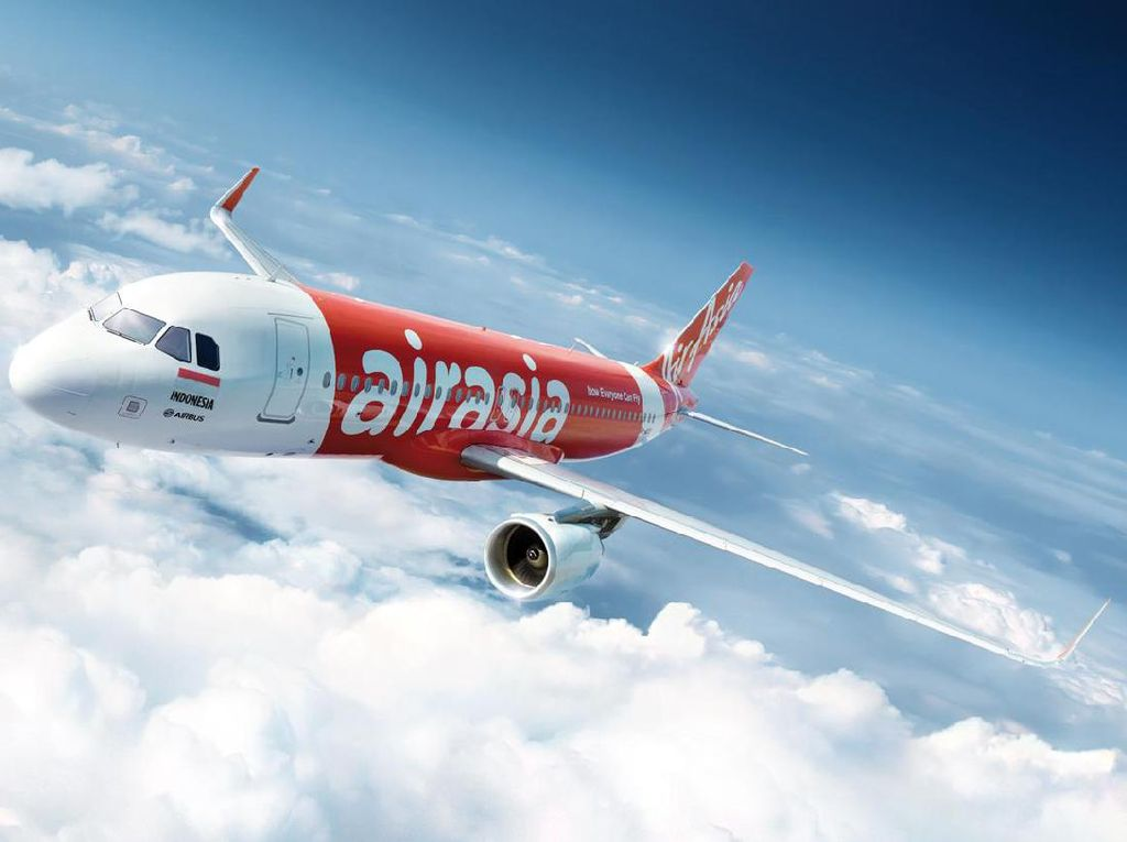 AirAsia Diskon Setengah Harga Terbang ke Luar Negeri