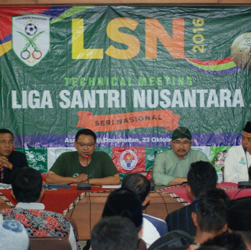 Seri Nasional Liga Santri Nusantara Mulai Bergulir, Diramaikan 32 Tim
