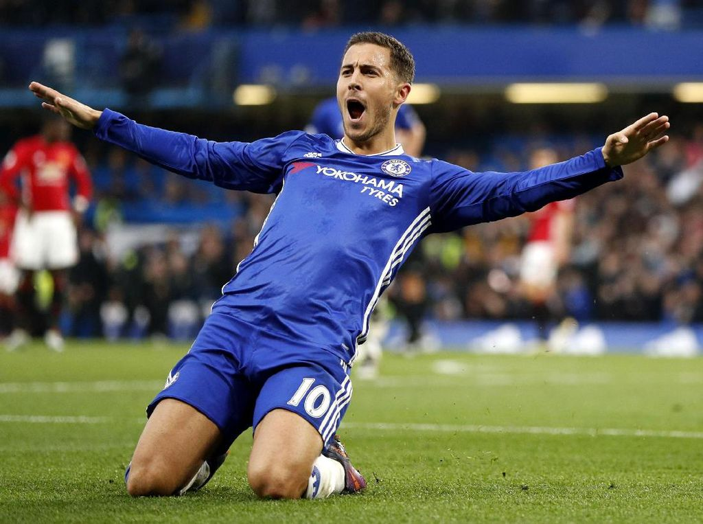 Chelsea Hajar MU 4-0