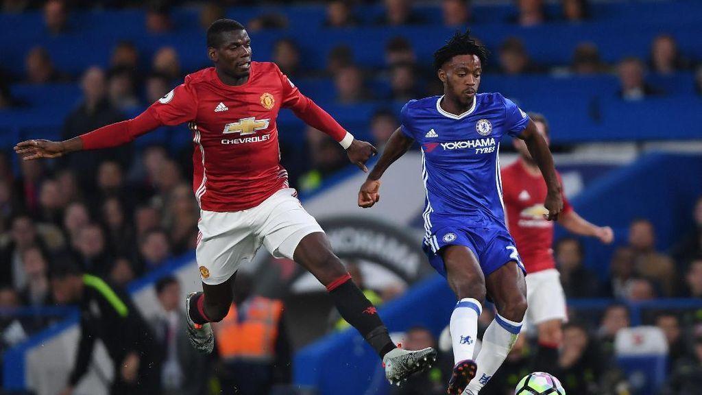 Ejekan untuk Pogba Bikin Chelsea-MU Makin Gaduh di Twitter