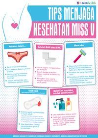 Infografis: Tips Menjaga Kesehatan Miss V