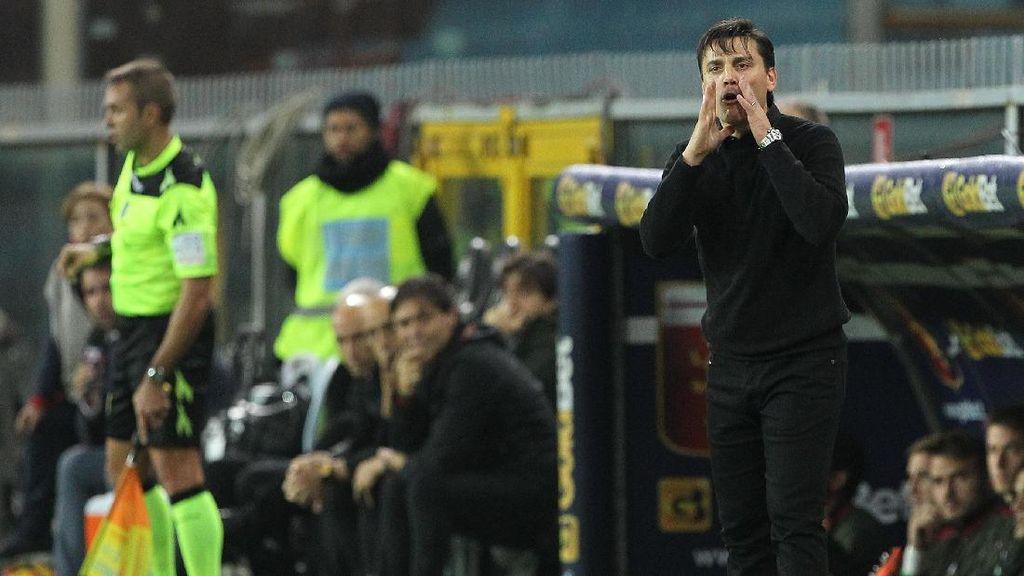 Montella: Laga yang Berat, Milan Terlalu Lambat di Babak Pertama