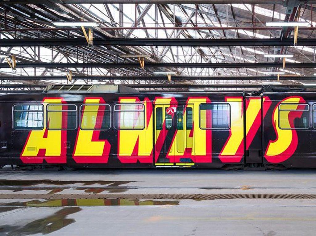 Kereta di Melbourne Jadi Karya Seni Berjalan, Jakarta Kapan?