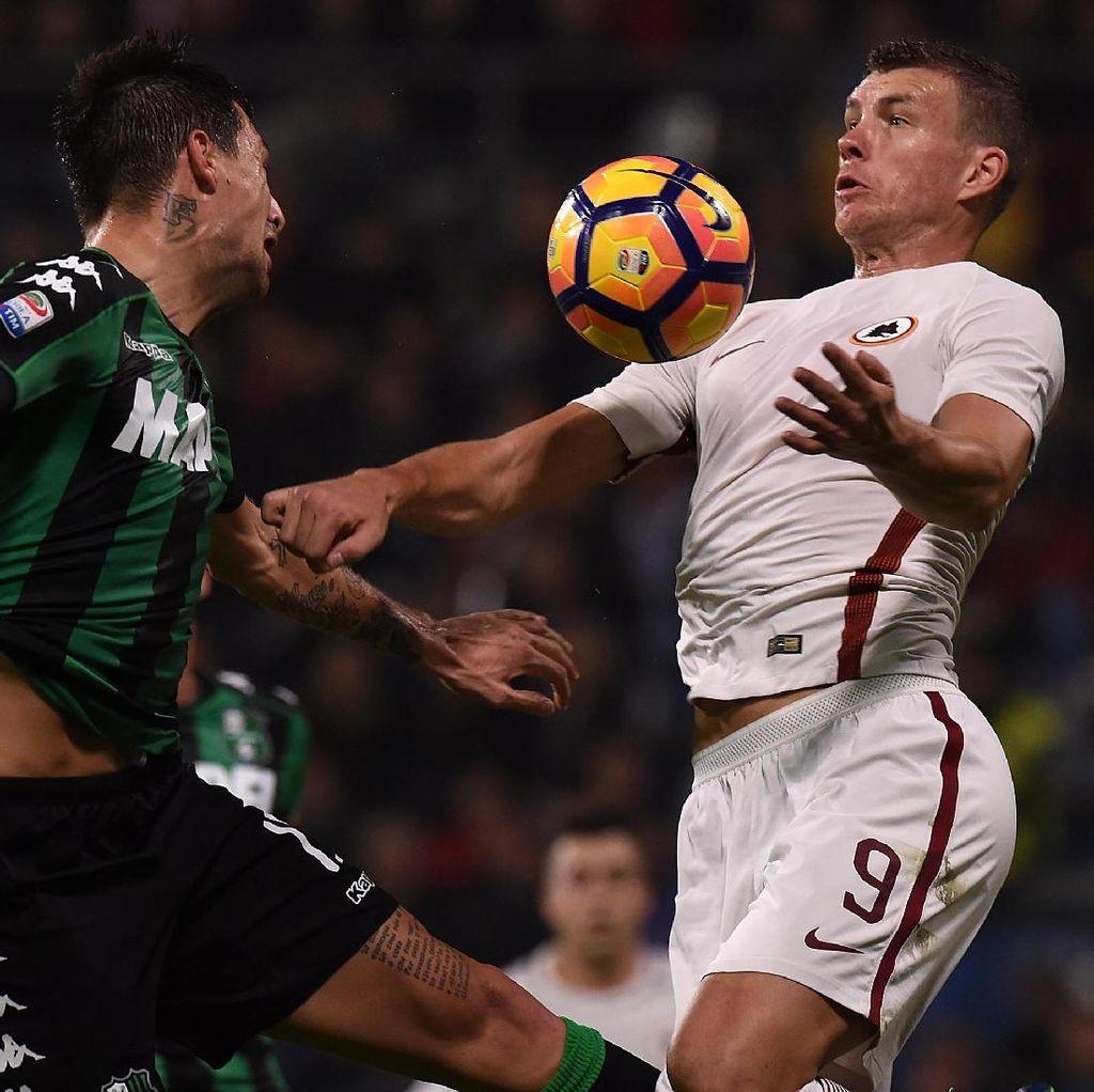 Sempat Tertinggal, Roma Atasi Sassuolo 3-1