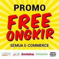 Promo Ongkir Gratis di Semua E-Commerce Dari Tanggal 29 Oktober - 11 November