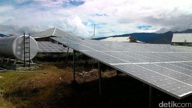 40% Panelnya Dicuri, PLTS di Pelosok Papua Tak Bisa Beroperasi Maksimal